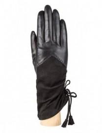 Перчатки женские (шерсть и кашемир) F-IS0051 black (Eleganzza)