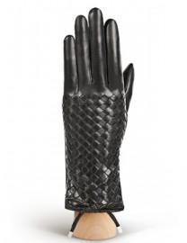 Перчатки женские (шерсть и кашемир) F-IS0052 black (Eleganzza)