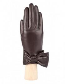Перчатки женские (шерсть и кашемир) F-IS0055 d.brown (Eleganzza)