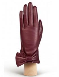 Перчатки женские (шерсть и кашемир) F-IS0055 merlot (Eleganzza)