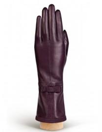Перчатки женские (шерсть и кашемир) F-IS0060 d.violet (Eleganzza)