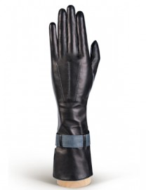 Перчатки женские (шерсть и кашемир) HP02075 black/grey (Eleganzza)