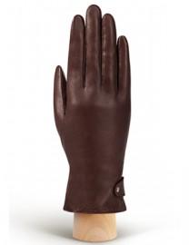 Перчатки женские (шерсть и кашемир) HP02810 d.brown (Eleganzza)