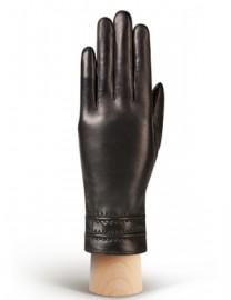 Перчатки женские (шерсть и кашемир) HP02836 d.brown (Eleganzza)