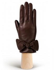 Перчатки женские (шерсть и кашемир) HP20070 d.brown (Eleganzza)