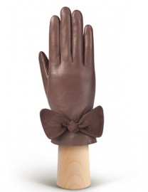Перчатки женские (шерсть и кашемир) HP20070 taupe (Eleganzza)