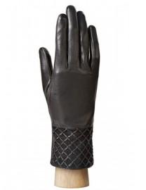 Перчатки женские (шерсть и кашемир) HP50305 black (Eleganzza)