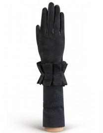 Перчатки женские (шерсть и кашемир) IS01230 black (Eleganzza)