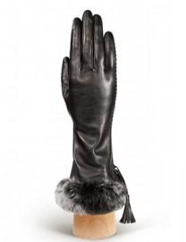 Перчатки женские (шерсть и кашемир) IS01250 black (Eleganzza)