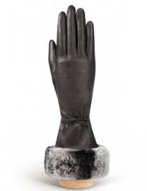 Перчатки женские (шерсть и кашемир) IS01263 black (Eleganzza)