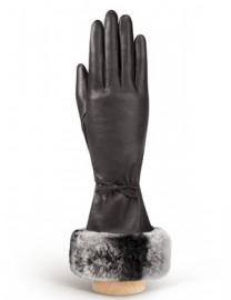 Перчатки женские (шерсть и кашемир) IS01263 mocca (Eleganzza)