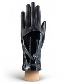 Перчатки женские (шерсть и кашемир) IS01300 black (Eleganzza)