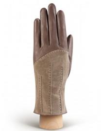 Перчатки женские (шерсть и кашемир) IS01300 taupe (Eleganzza)