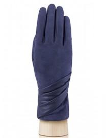 Перчатки женские (шерсть и кашемир) IS01310 charcoal (Eleganzza)