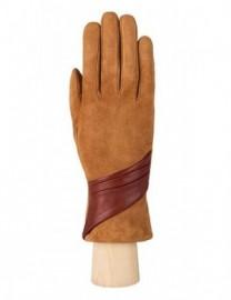 Перчатки женские (шерсть и кашемир) IS01310 cognac (Eleganzza)