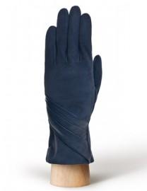 Перчатки женские (шерсть и кашемир) IS01310 d.blue (Eleganzza)