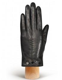 Перчатки женские (шерсть и кашемир) IS01700 black (Eleganzza)