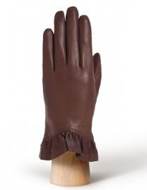 Перчатки женские (шерсть и кашемир) IS01818 d.brown (Eleganzza)