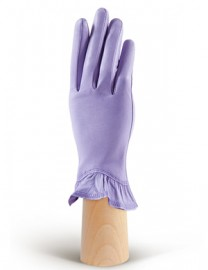 Перчатки женские (шерсть и кашемир) IS01818 l.violet (Eleganzza)
