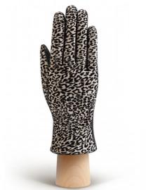 Перчатки женские (шерсть и кашемир) IS02015 black (Eleganzza)