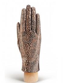 Перчатки женские (шерсть и кашемир) IS02015 d.brown (Eleganzza)