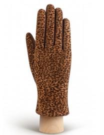 Перчатки женские (шерсть и кашемир) IS02015 l.brown (Eleganzza)