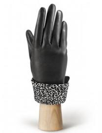 Перчатки женские (шерсть и кашемир) IS02017 black (Eleganzza)