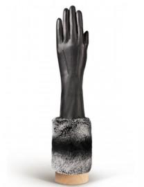 Перчатки женские (шерсть и кашемир) IS02028 black (Eleganzza)