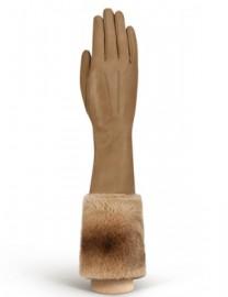 Перчатки женские (шерсть и кашемир) IS02028 taupe (Eleganzza)