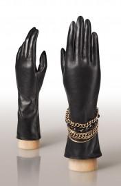 Перчатки женские (шерсть и кашемир) IS02046 black (Eleganzza)