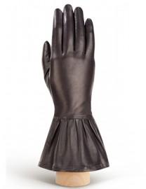 Перчатки женские (шерсть и кашемир) IS02050 d.brown (Eleganzza)