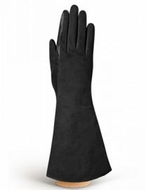 Перчатки женские (шерсть и кашемир) IS02054 black (Eleganzza)