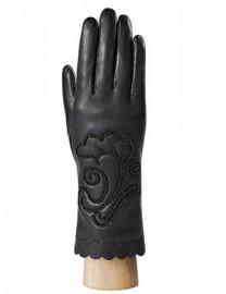 Перчатки женские (шерсть и кашемир) IS0211 black (Eleganzza)