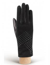 Перчатки женские (шерсть и кашемир) IS02120 black (Eleganzza)