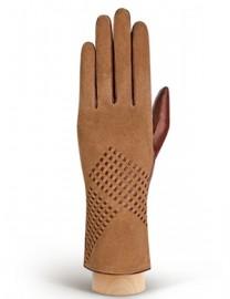 Перчатки женские (шерсть и кашемир) IS02120 cognac (Eleganzza)