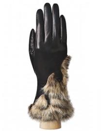 Перчатки женские (шерсть и кашемир) IS0213 black (Eleganzza)