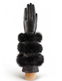 Перчатки женские (шерсть и кашемир) IS0216 black (Eleganzza)