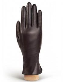 Перчатки женские (шерсть и кашемир) IS02804-sh d.brown (Eleganzza)