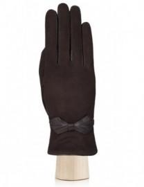 Перчатки женские (шерсть и кашемир) IS02845 d.brown (Eleganzza)