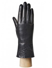 Перчатки женские (шерсть и кашемир) IS0302 black (Eleganzza)