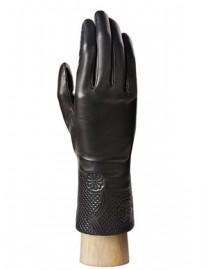 Перчатки женские (шерсть и кашемир) IS0304 black (Eleganzza)