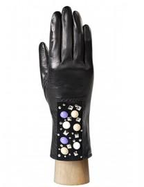 Перчатки женские (шерсть и кашемир) IS0312 black (Eleganzza)
