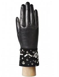 Перчатки женские (шерсть и кашемир) IS0313 black (Eleganzza)