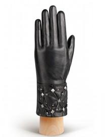Перчатки женские (шерсть и кашемир) IS0325 black (Eleganzza)