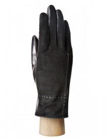 Перчатки женские (шерсть и кашемир) IS0326-sd black (Eleganzza)