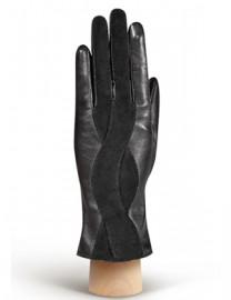 Перчатки женские (шерсть и кашемир) IS04000 black (Eleganzza)