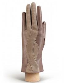 Перчатки женские (шерсть и кашемир) IS04000 taupe (Eleganzza)