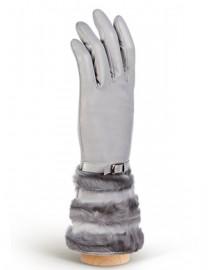 Перчатки женские (шерсть и кашемир) IS07010 grey (Eleganzza)