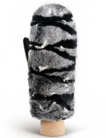 Перчатки женские (шерсть и кашемир) IS09800 black (Eleganzza)