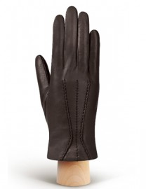 Перчатки женские (шерсть и кашемир) IS09802 d.brown (Eleganzza)